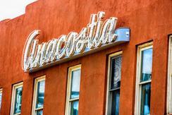 """neon sign saying """"Anacostia"""""""