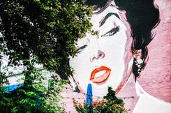 mural in DC's Shaw neighborhood